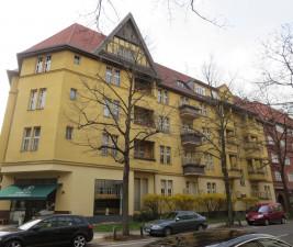 Denkmalpflege Fassade Homburger Straße1