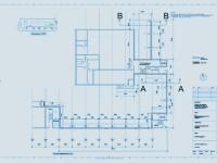 Grundriss Ausführungsplanung Ohne Massstab im A3_bl